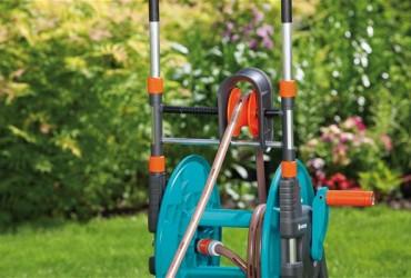 Зачем катушка (тележка) садоводу