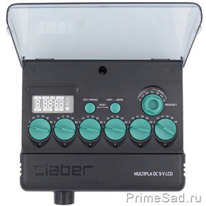 Пульт управления Multipla DC 9 V LCD Claber 8060