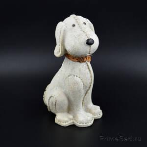 Декоративная фигура Собака с ошейником