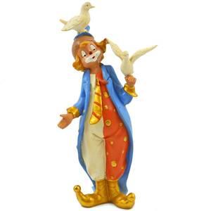 Фигура декоративная Лицедей-фокусник с голубем