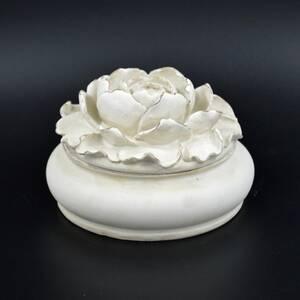 Шкатулка для украшений Белый пион