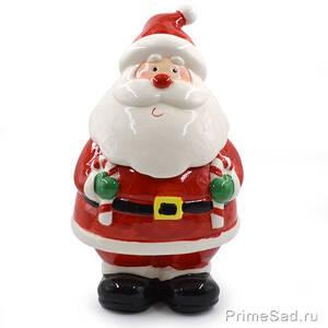 Конфетница Дед Мороз большой