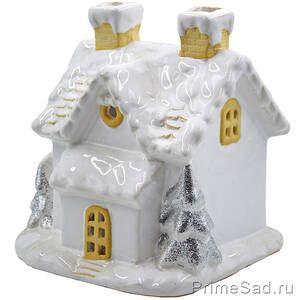 Подсвечник Зимний домик