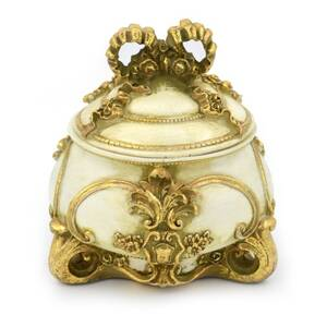 Шкатулка для украшений Золотой бант