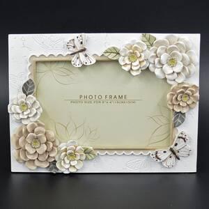 Фоторамка 10*15 Белые розы