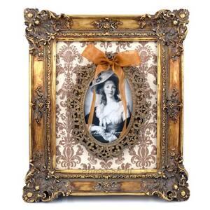 Рамка для фото 10*15 панно Золотой ажур