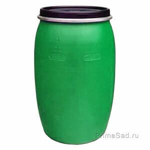 Бочка 127л зеленая Полимер-Групп