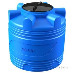 Бочка V 200л синяя Полимер-Групп