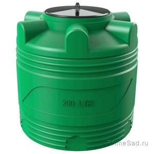 Бочка V 200л зеленая Полимер-Групп