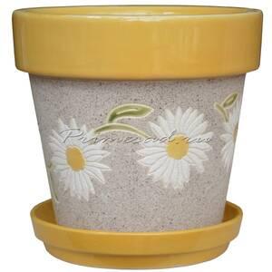 Горшок для цветов Top Fleur ромашки