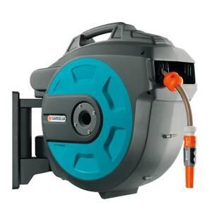 Катушка для шлангов настенная автоматическая 25 Gardena 8023