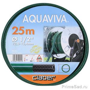 "Шланг для полива AQUAVIVA 1/2"" 25м Claber 9051"