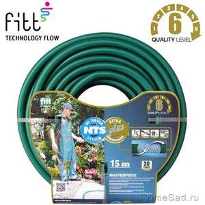 "Шланг для полива NTS PLUS MASTERPIECE 1/2"" 15m Fitt"