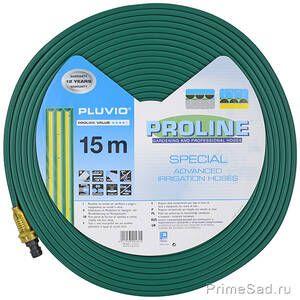 Плоский шланг для полива PLUVIO 15m Fitt
