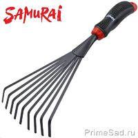 Грабли веерные мини 9-зубьев SAMURAI SGT-7