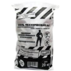 Антигололедный реагент Соль техническая №3 20кг