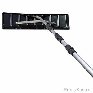 Скребок для уборки снега с крыши телескопический 6.4м SKRAB 28093